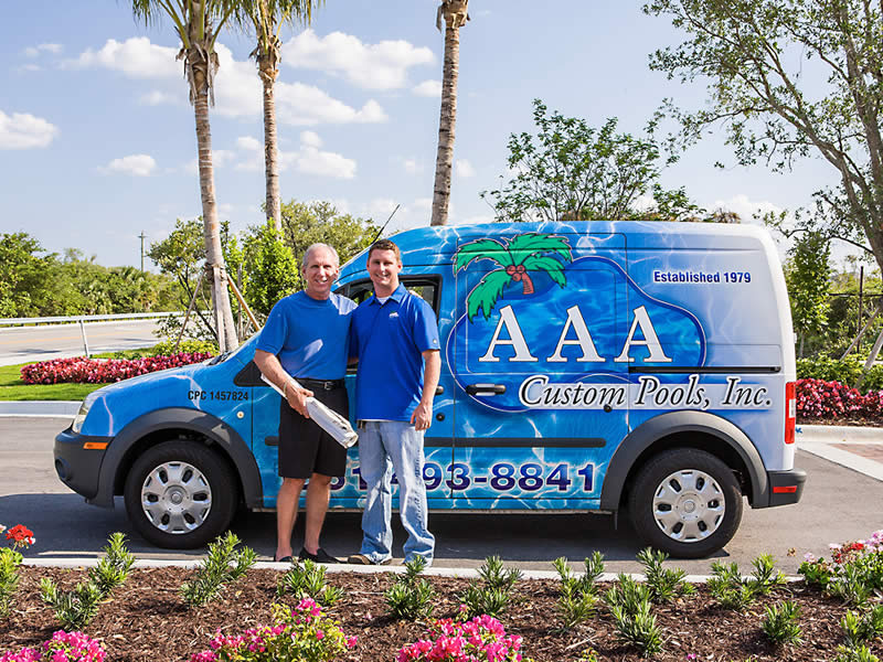 Alan and Scott Bryson AAA Custom Pools, Inc