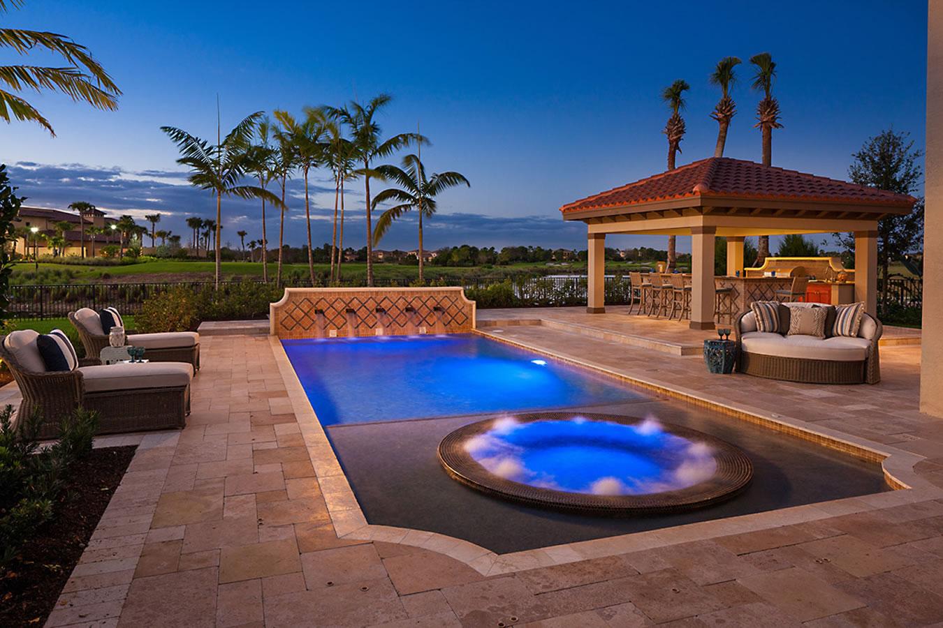 Pools Portfolio Of Aaa Custom Pools Inc South Florida
